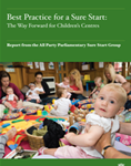 APPG Report on Sure Start Children's Centres