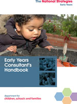 Early Years consultants handbook cover