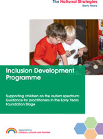 Supporting children on the autistic spectrum cover