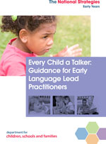 Every child a talk guidance cover